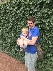 "Paul with Adam at Cubs Family Day • <a style=""font-size:0.8em;"" href=""http://www.flickr.com/photos/109120354@N07/29259168368/"" target=""_blank"">View on Flickr</a>"