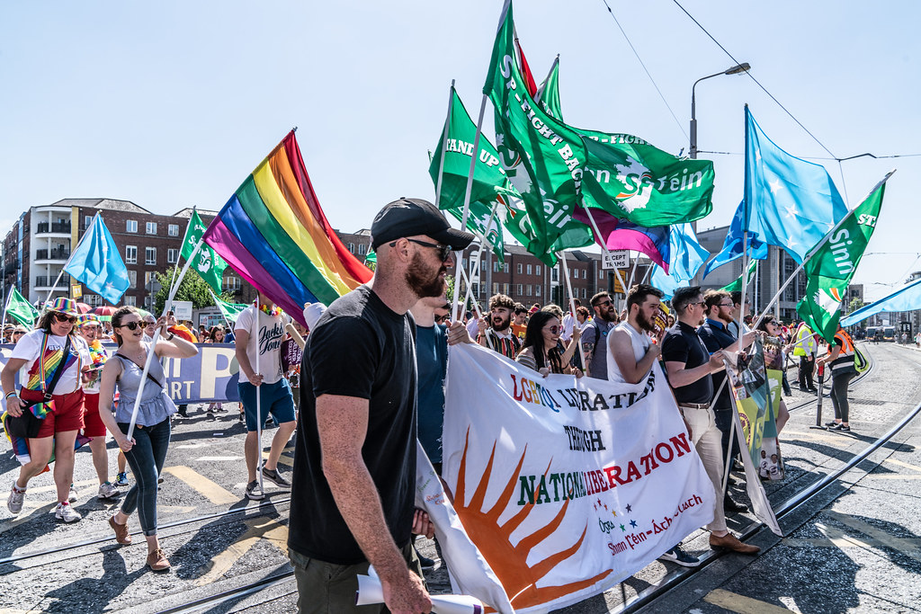 ABOUT SIXTY THOUSAND TOOK PART IN THE DUBLIN LGBTI+ PARADE TODAY[ SATURDAY 30 JUNE 2018] X-100090