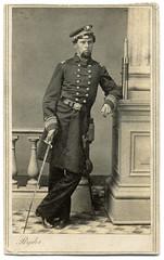 Steady as She Goes, Mates (Ron Coddington) Tags: cartedevisite civilwar jfryder cleveland ohio navy brownwater telescope lieutenantcommander 1863 1864