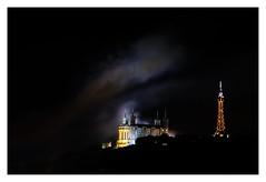 Lyon, 14 juillet 2018 (Laetitia.p_lyon) Tags: fujifilmxt2 lyon nuit night feudartifice firework fourvière