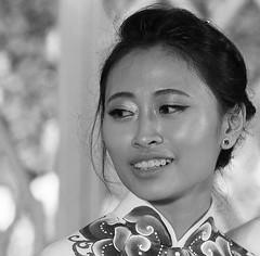 At a traditional wedding - Vietnam (lotusblancphotography) Tags: asia asie vietnam travel portrait monochrome blackandwhite noiretblanc people