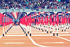 World Cup Athletics in London 2018 (The Ultimate Photographer) Tags: athletics athletes 110m hurdles 110mhurdles olympic stadium london uk worldcup 2018 devon devonallen competition red muller weekendshoot weekend ready startingblock
