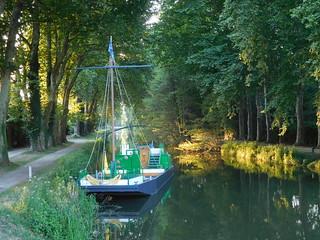 Boat in Briare