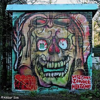 Den Haag Graffiti STEEN