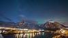 Lofoten 2018 (Stefan Giese) Tags: nikon d750 lofoten norwegen norway bluehour blauestunde polarlicht auroraborealis northernlight walimex walimex14mmf28 14mm wideangel weitwinkel reine