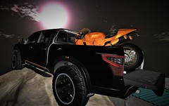 Off-road :P (xXDjMaRCoXx BLOGGER WITH PASSION) Tags: 4x4 indulge indulgeautomotive secondlife firestorm backdropcity viewer sl bike