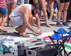 Guys painting the street (LarryJay99 ) Tags: 2018 lakeworthstreetpaintingfestibal urban festivals crowds florida people men male man guy guys dude dudes mantags manly virile studly stud masculine sexyman peeking peekingpits knees sunglasses flipflops toses barefuss barefoot feet toes handsome beard facialhair mustasch arms sagget hairyarms hairylegs wasteban sagger sagging squatting bulge bulges bulging squat streets urbanite hotman sagg facial mustache profile handsomeman sunnies glassed artest hairy legs armpits pits