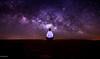 SKY FULL OF STARS | Universe (Crosshatchs) Tags: startrail galaxy universe stars night lights white one sand desert dubai razeen uae nikon d850 tokian 11mm astro horizon macro micro heaven stairway milkyway arabian self stargazing celestial sandmeetstars magenta purple blue 28f glow flow blow bigbear northstar polaris