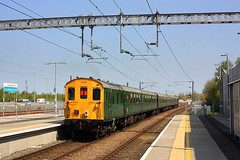 West Norfolk Wanderer at Cambridge North (Chris Baines) Tags: hastings demu the west norfolk wanderer cambridge north