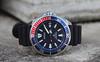 Seiko, Samurai. 4 (Leica XV) (Mega-Magpie) Tags: leica x vario outdoors timepiece time wristwatch watch dive diver seiko samurai prospex automatic red blue 200m japan srpb53