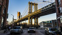 DUMBO (talv_ss) Tags: manhattan manhattanbridge lowermanhattan newyorkcity nyc usa urban cityscape city dumbo brooklyn bmw nikon d610 travelphotography travel worldcity bridge goldenhour river
