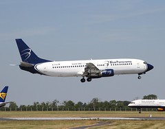 Blue Panorama               Boeing 737                         EI-FVA (Flame1958) Tags: bluepanorama bluepanoramab737 boeing737 boeing b737 737 b7374 7374 b737400 737400 eifva dub eidw dublinairport 280618 0618 2018 5418