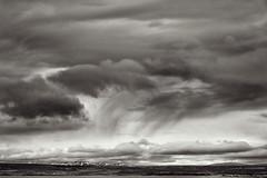 Across Þingvallavatn (pni) Tags: monochrome sky cloud view landscape þingvallavegur frombuswindow is18 iceland ísland pekkanikrus skrubu pni