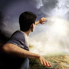 Sliding into memories (jaci XIII) Tags: pessoa homem surrealismo paisagem névoa bruma person man surrealism landscape mist