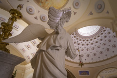 Baltimore Basilica (jtgfoto) Tags: approved baltimore maryland baltimorebasilica cathedral church architecture historic history rotunda statue angel sculpture ceiling wings altar sonyimages sonyalpha