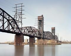 Delair Bridge (devb.) Tags: 4x5 largeformat linhoftechnika4 ektar delairbridge pennsauken nj delawareriver philadelphia