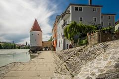 Passau 1 (PatrickHansy) Tags: passau deutschland germany bayern bavaria summer sommer europa europe stadt city citylife kirche church
