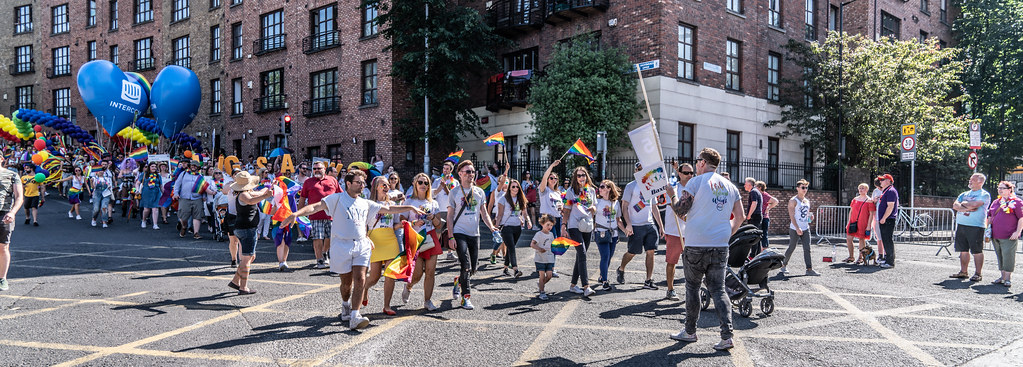 ABOUT SIXTY THOUSAND TOOK PART IN THE DUBLIN LGBTI+ PARADE TODAY[ SATURDAY 30 JUNE 2018] X-100270