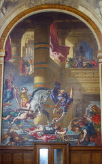 Delacroix, mural cycle, Saint-Sulpice, Paris
