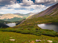 Silver Dollar Lake (allagill) Tags: lake mountains wilderness colorado scenery hike trail landscape ngc