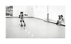 Master Class (Alexandr Voievodin) Tags: children girls sport rollerscates sporthall training fujifilmxt1