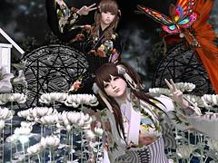 Lomomo Waloli dress @japonika (ღ:Yuzღ:) Tags: secondlife fashion argrace japonica kimono lomomo gacha 6doo maitreya virtual world friend