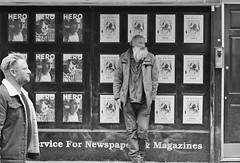 Hero (plw1053) Tags: london londonstreets candid blackandwhite bw noiretblanc monochrome window standing plw1053 paullgwells tenfiftythreeimagescom tenfiftythreeimages soho