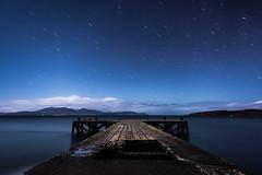 Portencross under Starlight (www.stevenrobinsonpictures.com) Tags: ayrshire scotland night pier landscape clyde