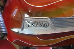 Moto Norton - UK (CHRISTOPHE CHAMPAGNE) Tags: 2018 france chateau savigny beaune moto norton