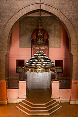 Foyer Chandelier (jarhtmd) Tags: africa morocco marrakesh architecture arch bricks canon eos70d building bldgdetail