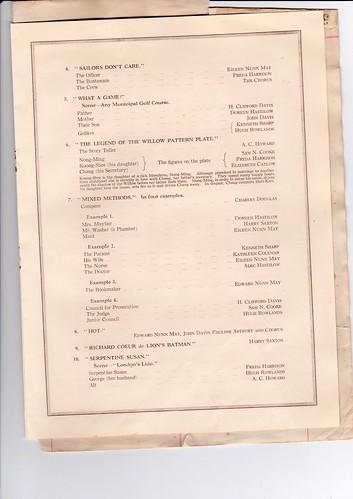 1931: Jan Programme 3