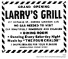larry's Grill  Madison and Ontario 1943 (albany group archive) Tags: albany ny history four cralos madison avenue ontario street 1930 posilipo 297 pine hills 1940s