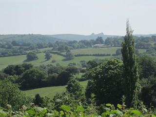 View to Haytor from Lime Street Moretonhampstead