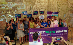 2018.07.17 #ProtectTransHealth Rally, Washington, DC USA 04782