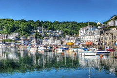 The river at Looe, Cornwall (Baz Richardson (now away until 26 Oct)) Tags: cornwall looe looeriver smallboats yachts rivers smalltowns