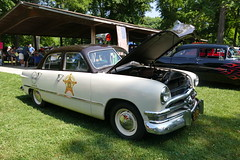 Ford Police Car (bballchico) Tags: ford shoebox 1951 policecar fathersdaycarshow noblesvilleindiana carshow