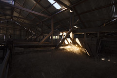 Highlight (oz_lightning) Tags: australia canon6d canonef1635mmf4lis dunlopstation nsw westerndivision agriculture building decay disused interior nature outback rural woolshed louth newsouthwales aus