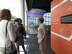 Ebola Exhibit CDC Museum Curator
