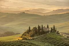Tuscany landscape (s_andreja) Tags: italia italy toscana tuscany valdorcia belvedere dawn