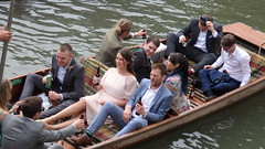 Stripey Socks. (ManOfYorkshire) Tags: suit suits guys wedding guests party boat punt punting cam river rivercam cambridge drinking beer beers bottle bottles happy celebrating celebration striped socks people