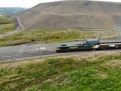 Ffos Y Fran Opencast Mine, Merthyr. South Wales (imleonbrown) Tags: cwmbargoed opencast coal trains freighttrains southwales