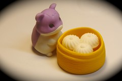 Hamster - Dumplings (-SOLO--) Tags: hamster dumplings macromondays erasers