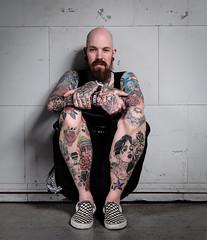 Vans Fan (tvdijk19) Tags: roelbuitenhuis01 portrait portret studio34x model tattoo fujixt2 teunvandijk vans ferryknijn people man mannelijk male