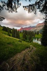 En descendant au lac (Olivier Rapin) Tags: 20180718 diablerets lac montagnes retaud romandie sonyalpha7 vaud samyang 14mm chemin spitzhorn montains