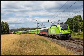 BTE 182 505+Flixtrain 1805, Lengerich, 23-6-2018
