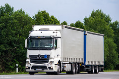 MB Actros 2542 MP4 StreamSpace (UA) (almostkenny) Tags: lkw truck camion ciężarówka tandem drawbar mb mercedesbenz mpiv mp4 streamspace 2542 ua ukraine bh bh2775hp