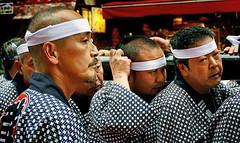 Sanja Festival participants.Asakusa. (Bernard Spragg) Tags: sanjafestivalparticipantsasakusa asia japan festival tokyo sanjamatsuri lumix