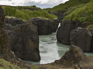 Brúarhlöð gorge and the Hvitá River