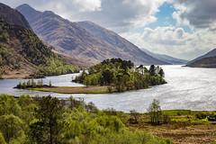 Glenfinnan (susanwilson9) Tags: boats clouds lake landscape mountain mountains river lakes sky