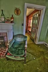 Inside An Abandoned WWII Army Surgeon's House (33) (Darryl W. Moran Photography) Tags: urbex urbanexploration urbandecay abandonedanddecaying abandonedsurgeonshome leftbehind forgottenpast frozenintime darktouristphotography